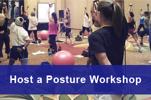 Host a National Posture Institute Posture Analysis, Posture Correction and Resistance Training Workshop