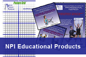 National Posture Institute Posture Grids, Posture DVDs, Posture Software & Equipment